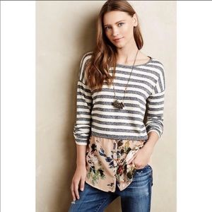 Anthropologie | Postmark Ginny Layered Top